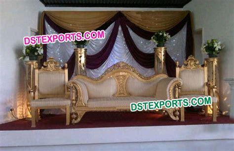wedding stage sofa wedding stage elegant sofa set