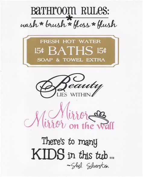 quote bathroom bathroom quotes and sayings quotesgram