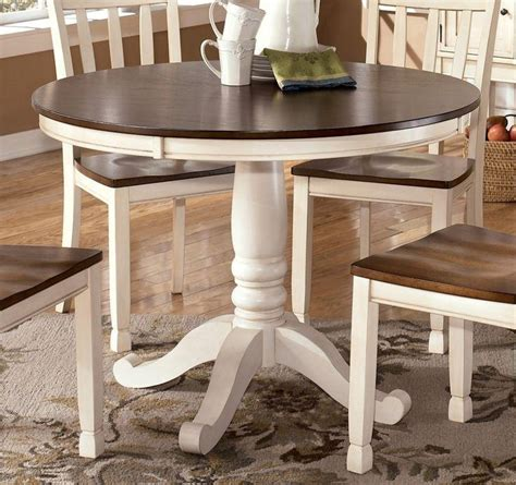 Dining Table White Legs Wooden Top 20 Ideas Of Dining Tables With White Legs Dining Room Ideas