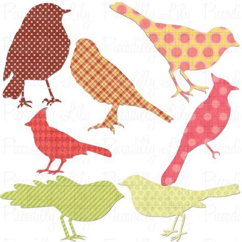 printable bird shapes digital printable bird shapes printables pinterest