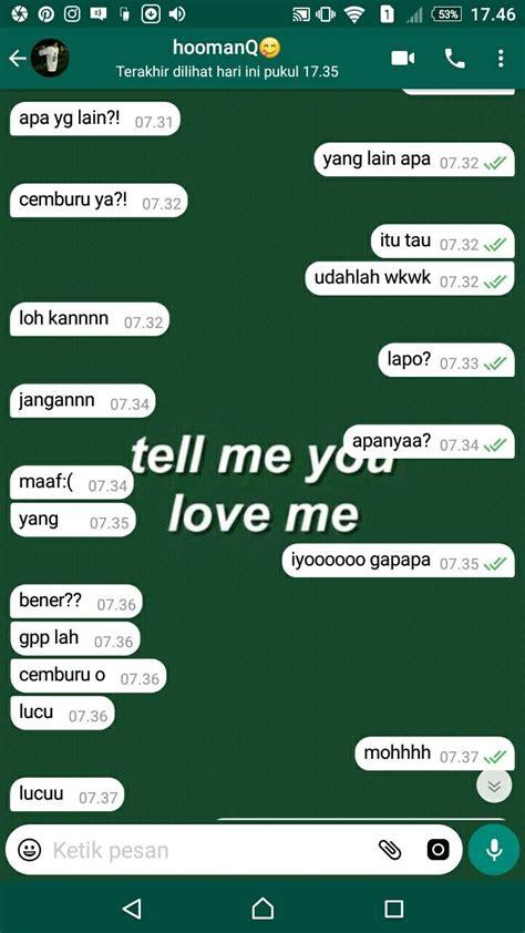 chat whatsapp baper boyfriendgoals bucin halu