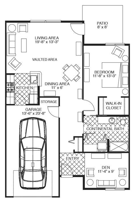 Patio Home Floor Plans by Wheatland