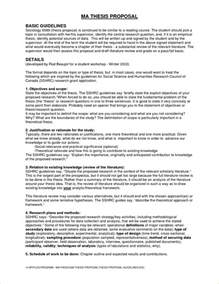 Dissertation Proposal 8 Thesis Proposal Template Timeline Template