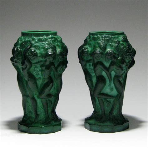 Malachite Vase by Antiques Atlas Pair Of Heinrich Hoffman Malachite Vases