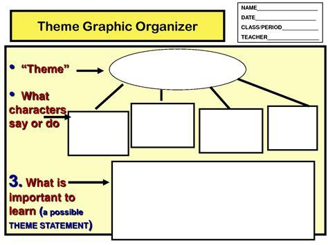 theme in literature graphic organizer di croce st simon oct 9