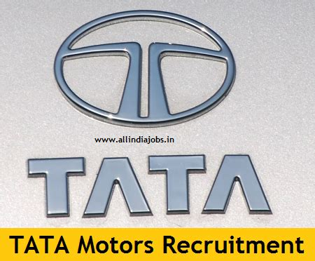 In Tata Motors For Mba Freshers by Tata Motors Recruitment 2018 2019 Openings For