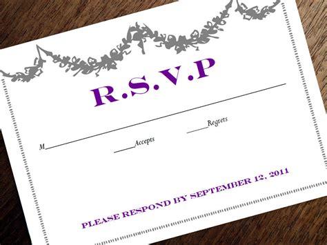 printable rsvp card template printable rsvp card response card download instant