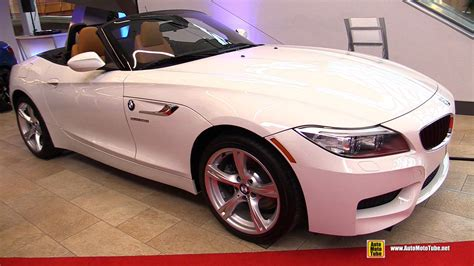 Bmw Z4 Interior by 2016 Bmw Z4 Sdrive 28i Roadster Exterior And Interior