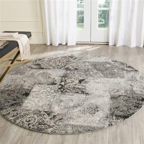 Safavieh Retro - retro rugs grey 60 s inspired retro rug safavieh