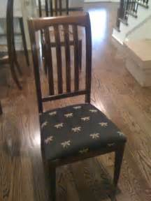 How To Recover Dining Room Chair Cushions Recovering Kitchen Chair Cushions With For