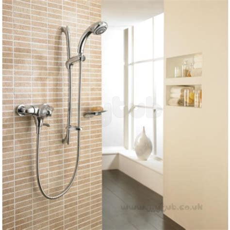Mira Fino Shower by Mira Fino Ev Thermo Shower Mixer And Kit Cp Mira