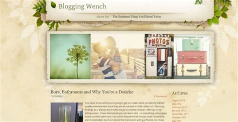 the cutest blog on the block the blogging wench the cutest blog on the block