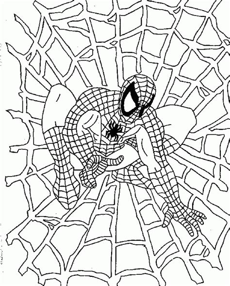 spiderman coloring pages pdf download spiderman ready for action coloring for kids spiderman