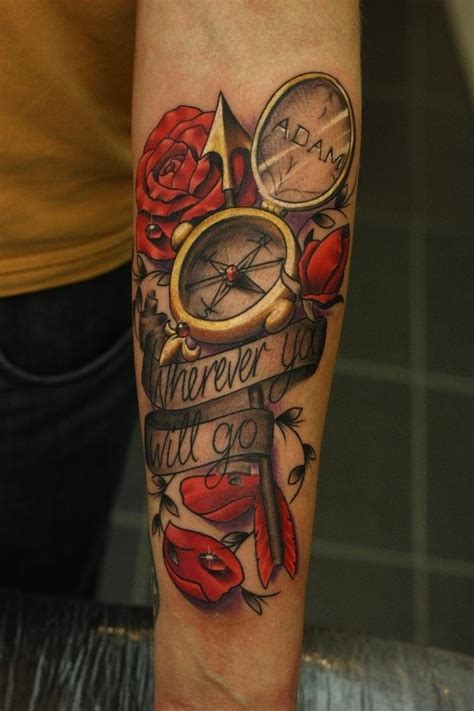 compass hourglass tattoo 1000 images about ink clocks compass and hourglass on