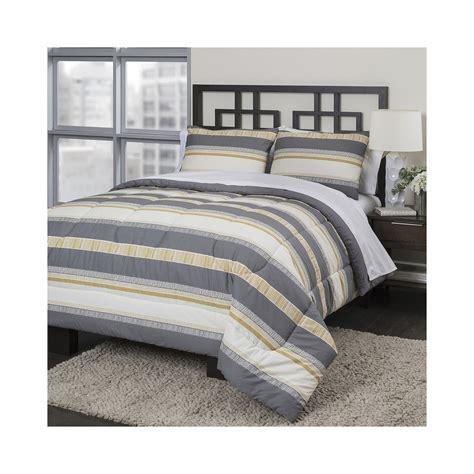 Neutral Bed Sets Buy Republic Neutral Stripe Comforter Set Offer Bedding Sets