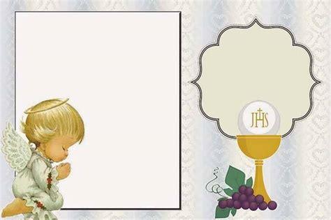tarjetas de comunion personalizadas para imprimir gratis www milfiestasinfantiles com invitaciones fiestas