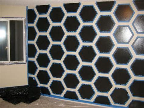Pola Motif 3d Honeycomb Pattern 8 teknik kreatif mengecat tembok rumah demi rumah impian