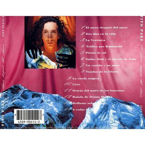 despus del amor el amor despues del amor fito paez free mp3 download full tracklist