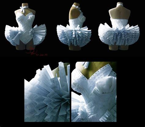 Paper Dresses - paper dresses alzheimer13 deviantart computers paper