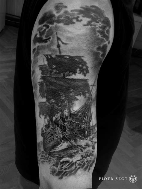 ghost ship tattoo designs ghost ship best ideas designs
