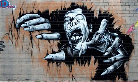 imagenes de zombie en 3d zombie graffiti graffiti
