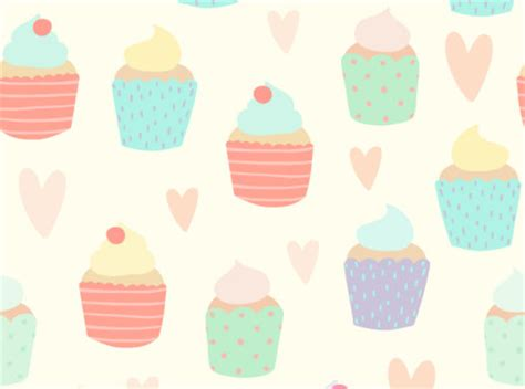 cake background pattern vector watercolor cake seamless background vector free vector