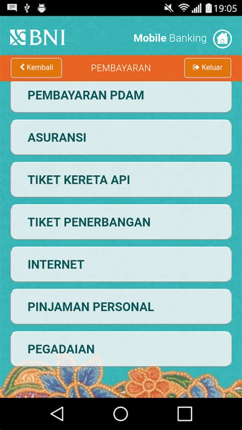 format sms banking antar bank bni bni mobile banking android apps on google play