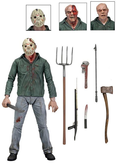 Kaos 3d Square Jason Vorhees friday the 13th part 3 jason voorhees ultimate actionfigur