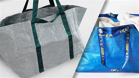 new ikea bag ikea redesigns its big blue bag for the first time ever
