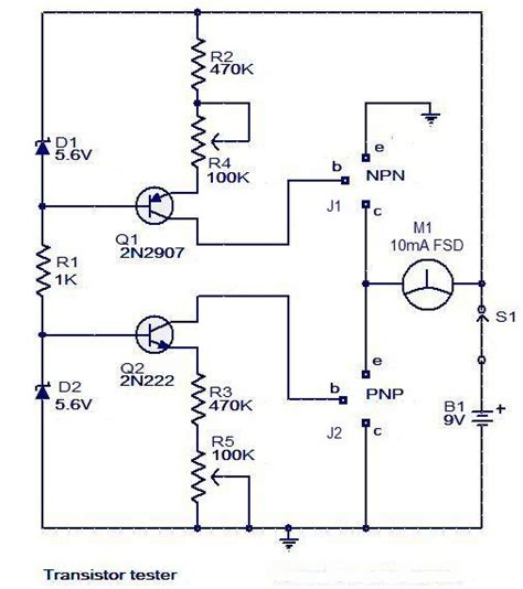 how to test diode and transistor 28 images electric