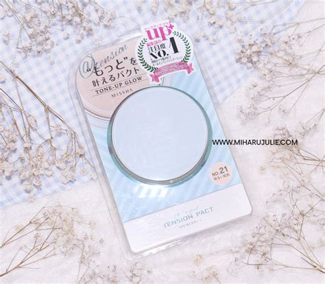 Missha The Original Tension Pact Tone Up Glow missha the original tension pact tone up glow review miharu julie