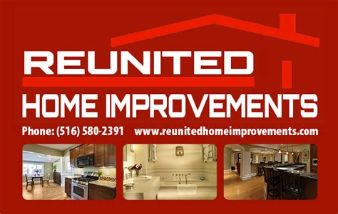 reunited home improvements and home remodeling services ny
