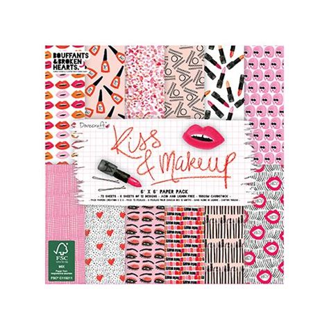 dove craft paper dovecraft dovecraft makeup 6x6 inch paper pad