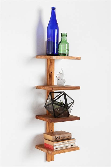 Spine Wall Shelf by Teak Spine Small Wall Shelf Outfitters
