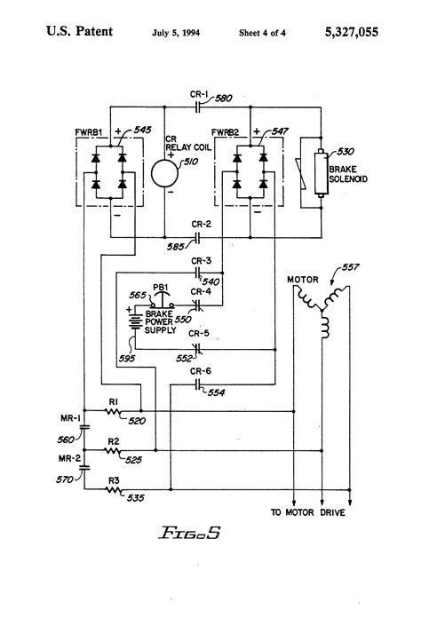 patent us5327055 mechanical brake hold circuit for an