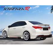 BodyKit Kantara Style Plastic Toyota Corolla 2014  2017