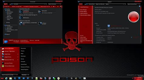 video game themes for windows 10 poison theme for win8 skinpack customize your digital