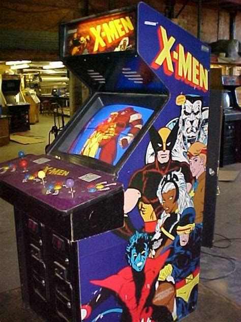 Under Cabinet Stereo X Men Videogame By Konami