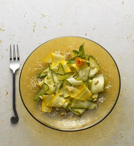 Inspired Side Salad With Zucchini Pecorino by Inspired Side Salad With Zucchini Pecorino Popsugar Food