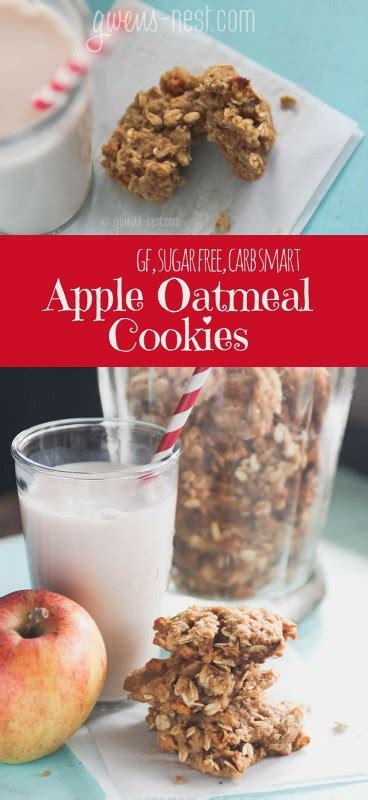 printable recipes for sugar cookies sugar free apple oatmeal cookie recipe gwen s nest