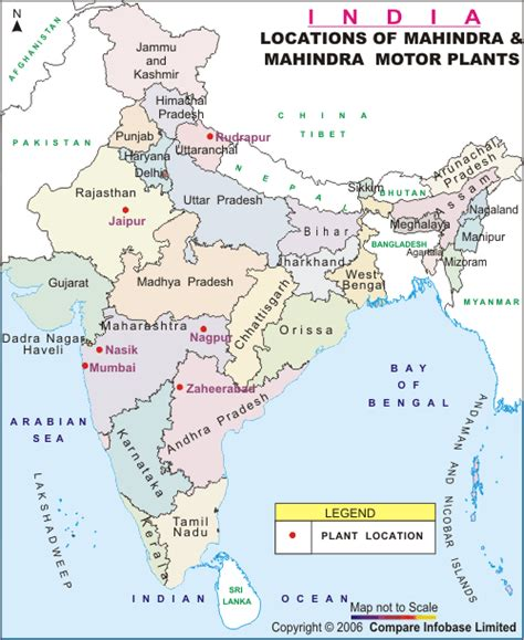 mahindra plant mahindra and mahindra ltd map of mahindra mahindra