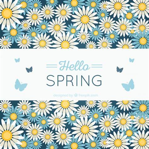 sfondi con fiori e farfalle primavera sfondo con fiori e farfalle scaricare vettori