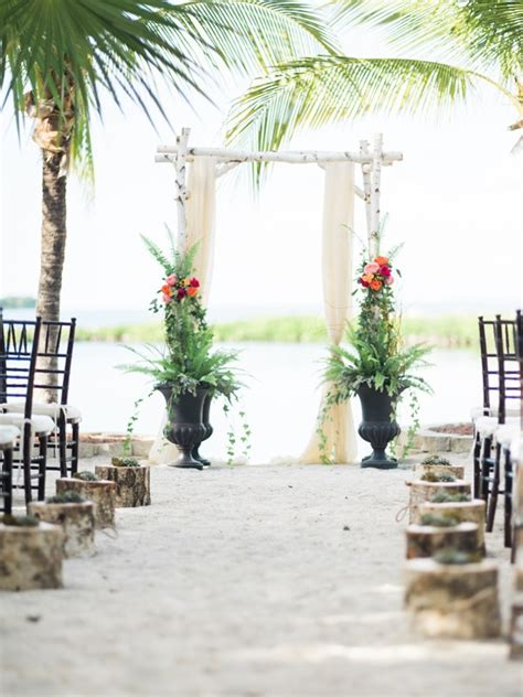 backyard beach wedding romantic vintage beach wedding beacon lane