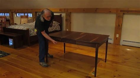 dining table with leaves stored inside bob gasperetti s dining table with leaves stored inside
