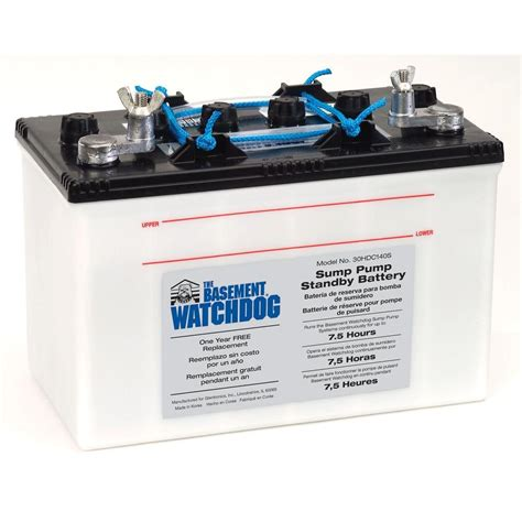 basement watchdog commercial pumps big standby battery