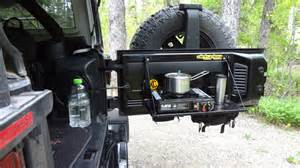 Jeep Wrangler Tailgate Jeep Tailgate Molle Table Vagabond Expedition