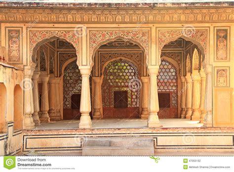 interior of hawa mahal wind palace in jaipur rajasthan