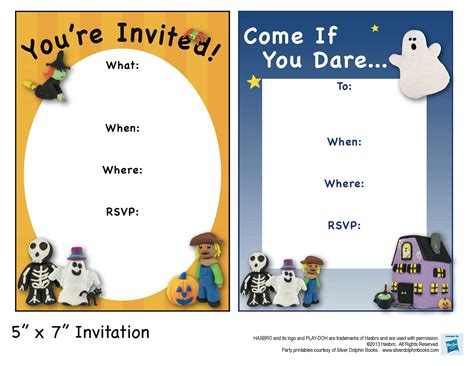 printable halloween party invitations print printable halloween birthday party invitations festival