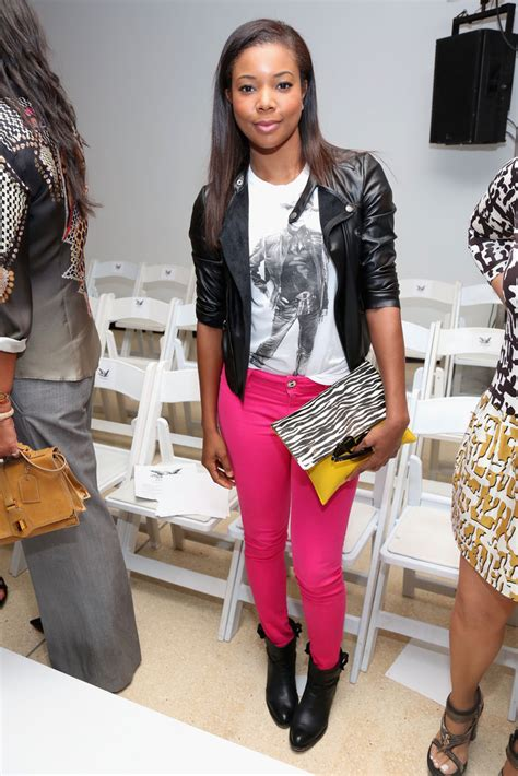 Style Gabrielle Union Fabsugar Want Need by Gabrielle Union In Mcnairy New Amsterdam Front Row