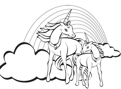 printable rainbow unicorn unicorn coloring pages free for kids printable unicorn